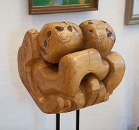 Life, Basswood, 4ft h