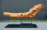 The River, cherry wood, 8ft l