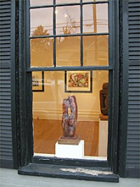 View from window, Cerlan Gallery