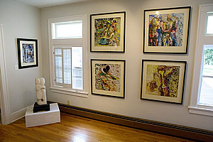 Artpost gallery - view 2