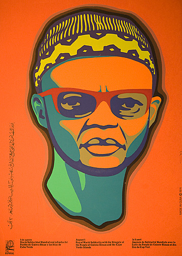 Day of World Solidarity with the Struggle of the People of Guinea-Bissau and  the Cape Verde Islands (Portrait of Amílcar Cabral)